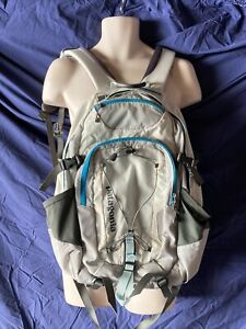 Patagonia Chacabuco 32L backpack Gray Off Whit Turquoise