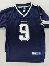 Dallas Cowboy NFL EQUIPMENT Football Replica Jersey (#9 Romo) Youth Large
