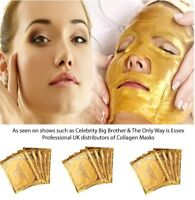 5x Gold Collagen Face Masks Anti Ageing Premium 24k Crystal Skin Care Face Patch