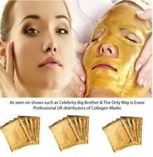 5x Face Masks Anti Ageing Premium 24k Gold Collagen Crystal Skin Care Face Patch