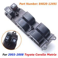 Electric Power Window Master Control Switch For 2003-2008 Toyota Corolla Matrix