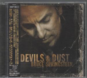 Bruce Springsteen Devils & Dust Cd / Dvd Import Japon SICP 782-3