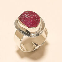 Natural Brazilian Tourmaline Druzy Ring 925Sterling Silver Handmade Fine Jewelry