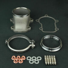 """MAMBA SUS304 5 Bolt to 3"""" V-band Turbo Dump Down Pipe Flange / Ford XR6 BA BF"""
