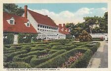The Gardens, Home of Washington, Mount Vernon, VA. ngl E5310