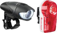 Planet Bike Blaze 1/2 watt Headlight and Superflash Taillight Set: Black Body