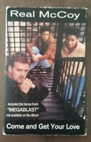 Real McCoy Come and Get Your Love Cassette Single, Tested, Works