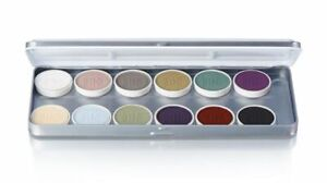 Ben Nye MagiCake Creature Aqua Paint 12 Color Makeup Palette CFK-14