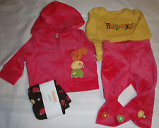 GYMBOREE 3-6 Month Fall for Autumn Velour Pants Hoodie Leggings Shirt Outfit NWT
