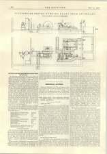 1914 aspirazione con propulsione a gas impianto di pompaggio SEVENOAKS piani descrizione