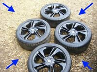 "CORSA E 17"" LIMITED EDITION ALLOY WHEELS 215 45 17 continental Tyres excellent"