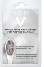 VICHY PORE PURIFYING CLAY MASK WITH TWO MINERAL CLAYS NO PARABENS 2X6ML