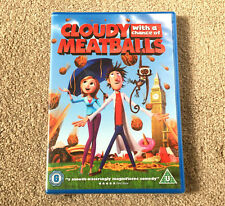 Cloudy With A Chance Of Meatballs DVD BRAND NEW SEALED