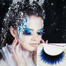 Women Natural Long Blue-black False Eyelashes Makeup Tool Eye Lashes Extension