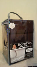 NEW Bamboo Essence Ashley Taylor Ultra  2000 Series 6 Piece QUEEN SET-  BLACK