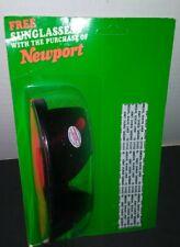 Newport Tobacco Sunglasses Orange Vintage Collectible, In Original Package/Best$