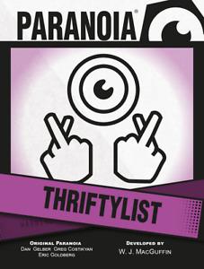 Paranoia RPG: Thriftylist Deck MGP50018