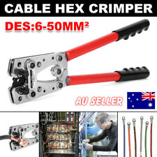 6-50mm² Anderson Plug Crimping Tool Ideal Battery Terminal Cable Lug Hex Crimper