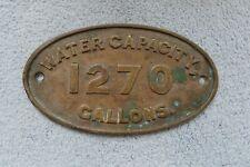 CARLISLE CITADELS STATION BRASS TOKEN,.. L.M.S
