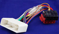 ISO WIRING HARNESS LOOM PLUGS HOLDEN COMMODORE VT VX MONARO CAR STEREO RADIO