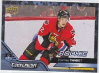 16/17 COMPENDIUM...THOMAS CHABOT...BLUE ROOKIE...CARD # 865...SENATORS