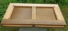 Vintage Gaylord Bros LIBRARY CARD CATALOG SECTION WITH PULL OUT TRAYS