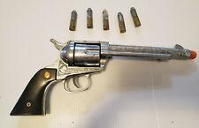 Vintage Nichols Stallion 45 Cap Gun - 1950'S - With Bullets