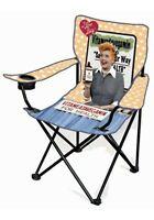 I Love Lucy Folding Lawn Chair Vitameatavegamin- Lucille Ball