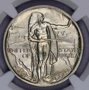 1938-S Oregon Trail Commemorative Silver Half Dollar 50c NGC MS 65