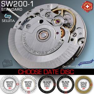 MOVEMENT AUTOMATIC SELLITA SW200-1, STANDARD (COMPATIBLE ETA 2824,) NEW