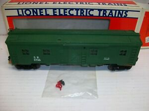 O Scale Lionel 6-5726 Southern Lighted Bunk Car LN/Box