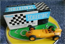 Scalextric C54 Lotus 16 F1 Yellow Slot Race Cox Atlas Pactra Lancer Exceptional