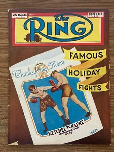 The Ring magazine boxing, December 1948, Stanley Ketchel, Billy Papke
