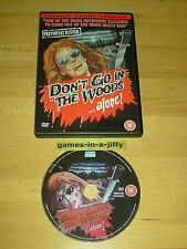 DON'T GO IN THE WOODS ALONE Totally Uncut Version 1982 VERY RARE DVD Region Free