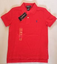 RALPH LAUREN BOYS SS CLASSIC POLO RED 6 T RRP £45 NOW £23.50