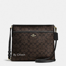 New Coach F34938 F58297 File Bag Messenger Crossbody/Shoulder Bag Purse Handbag