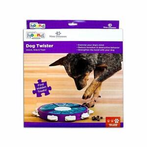 Dog Twister Interactive Toy Treat Dispenser Game Nina Ottosson Sweden Level 3