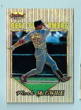 MARK MCGWIRE 1999 BOWMAN'S BEST ATOMIC REFRACTOR /100