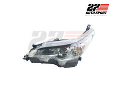 GENUINE PART Head Light LAMP LH  WITH MOTOR Toyota FORTUNER SUV 2015 16 17 18