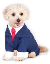 Blue Pet Dog Cat President Trump Business Suit Costume-Xxl
