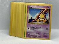 Complete Base Set Commons NM-Mint Vintage Pokemon Cards