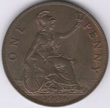 More details for 1936 george v one penny | british coins | pennies2pounds