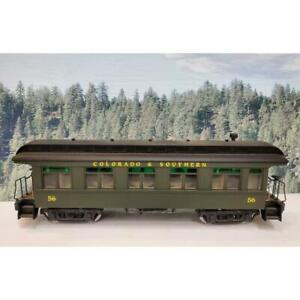 G Scale Bachmann Colorado & Southern 56 Observation Car