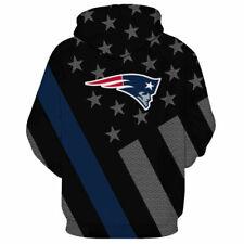 ***USA Seller*** Patriots Hoodie Sweatshirt ***4XL***