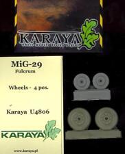 Karaya Models 1/48 MIKOYAN MiG-29 FULCRUM WHEELS SET Resin Set