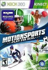 Motionsports:  Play for Real (Microsoft Xbox 360, 2010)...Kinect.....99¢..!!!