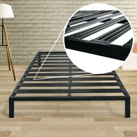 Classic 14'' Metal Platform Bed Frame with Extra Sturdy Heavy Steel Slat Support