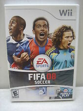 NINTENDO WII FIFA SOCCER 08 GAME COMPLETE & TESTED