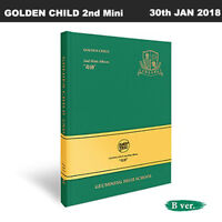 GOLDEN CHILD Miracle 2nd Mini Album B Ver CD+Poster+Booklet+PhotoCard+Etc KPOP