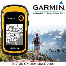 Garmin eTrex 10│Outdoor Handheld GPS Receiver│GLONASS│Geocache│Worldwide Basemap